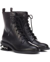 Nicholas Kirkwood - Ankle Boots Suzie aus Leder - Lyst