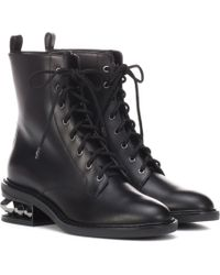 Nicholas Kirkwood - Suzi Leather Ankle Boots - Lyst