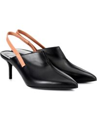 Pierre Hardy - Secret Leather Slingback Mules - Lyst
