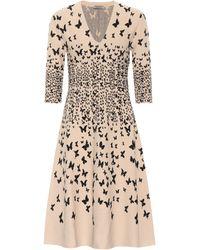 Bottega Veneta - Butterfly-jacquard Dress - Lyst