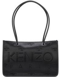 KENZO - Tote Kombo Satin Shoulder Bag - Lyst