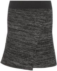 Isabel Marant - Cashlin Wool And Linen-blend Skirt - Lyst