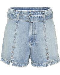 Jonathan Simkhai - Embellished Denim Shorts - Lyst