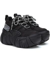 Vetements - X Swear Nubuck Platform Sneakers - Lyst