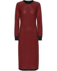 2a01bc5022a Polo Ralph Lauren Merino Wool Sweater Dress in Blue - Lyst