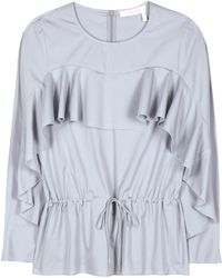 See By Chloé - Cotton Blouse - Lyst