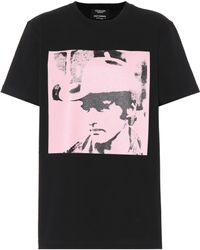 CALVIN KLEIN 205W39NYC - Dennis Hopper Printed Cotton T-shirt - Lyst