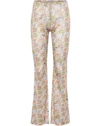 Acne Studios - Floral Trousers - Lyst