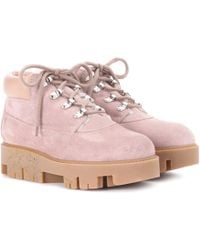 Acne Studios - Exclusive To Mytheresa. Com – Tinne She Suede Ankle Boots - Lyst