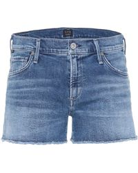 Citizens of Humanity - Ava Cut-off Denim Shorts - Lyst