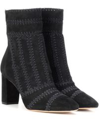 Alexandre Birman - Beatrice Suede Ankle Boots - Lyst