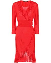 Roberto Cavalli - Knitted Dress - Lyst