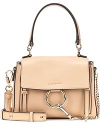 Chloé - Mini Faye Day Leather Shoulder Bag - Lyst