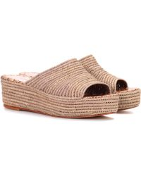 Carrie Forbes - Woven Platform Sandals - Lyst
