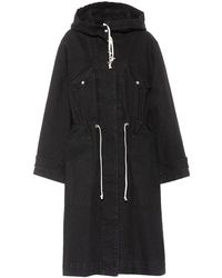 Étoile Isabel Marant - Trench Lander in cotone - Lyst