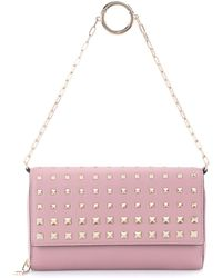 Valentino - Carry Secrets Leather Wallet - Lyst