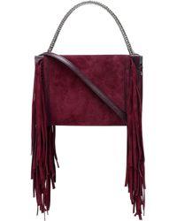 Givenchy - Cross3 Suede Shoulder Bag - Lyst