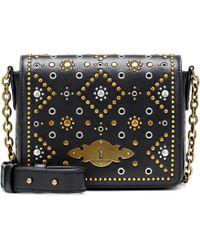 Polo Ralph Lauren - Brooke Leather Shoulder Bag - Lyst