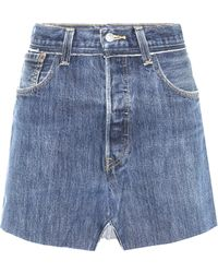 Vetements - X Levi's® Denim Skirt - Lyst