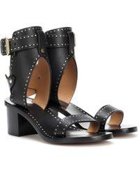 abf98066cdc Isabel Marant - Jaeryn Studded Leather Sandals - Lyst