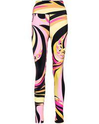 Emilio Pucci - Printed leggings - Lyst