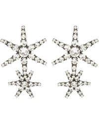 Jennifer Behr - Estella Crystal Star Earrings - Lyst