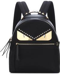 Fendi - Embellished Leather Backpack - Lyst