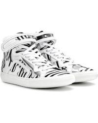 Pierre Hardy - ESCLUSIVA per mytheresa.com - Sneaker in pelle - Lyst