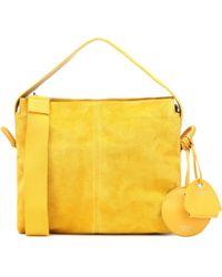 Acne Studios - Minimal Suede Handbag - Lyst