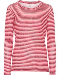 Étoile Isabel Marant - Kaaron Striped Linen And Cotton Top - Lyst