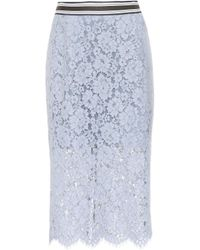 Dorothee Schumacher - Bold Poetry Cotton-blend Lace Skirt - Lyst