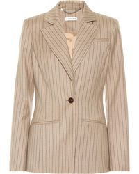 Altuzarra - Acacia Striped Wool-blend Blazer - Lyst