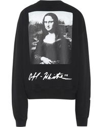 204eafde0ced Lyst - Off-White c o Virgil Abloh Floral Hooded Sweatshirt in Black