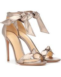 Alexandre Birman - Clarita Leather Sandals - Lyst