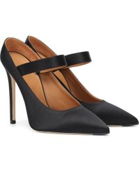 Victoria Beckham - Solar Satin Court Shoes - Lyst