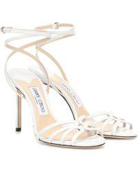Jimmy Choo Sandales Mimi - Blanc