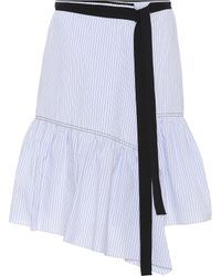 Dorothee Schumacher | Striped Cotton-blend Skirt | Lyst