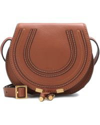 Chloé - Marcie Small Leather Shoulder Bag - Lyst