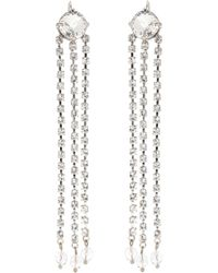 Miu Miu - Crystal-embellished Earrings - Lyst