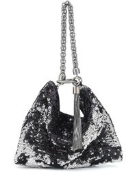 Jimmy Choo - Callie Sequined Clutch - Lyst