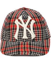 Gucci - Ny Yankees Houndstooth Baseball Cap - Lyst