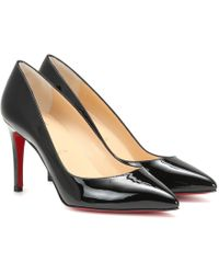 Christian Louboutin - Pigalle Follies 85 Leather Pumps - Lyst