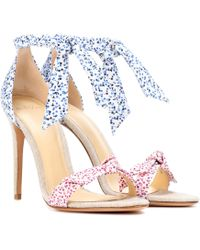 Alexandre Birman - Lovely Clarita Floral-printed Sandals - Lyst