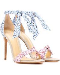 Alexandre Birman - Lovely Clarita Floral-printed Sandals - Lyst