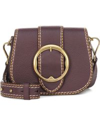 Polo Ralph Lauren - Lennox Belt Crossbody Bag Medium Wine - Lyst