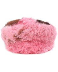 Prada - All Designer Products - Fur Hat - Lyst