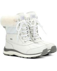 UGG - Adirondack Ii Leather Ankle Boots - Lyst
