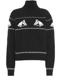 ALEXACHUNG - Wool Turtleneck Sweater - Lyst