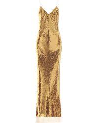 Stella McCartney - Paillettenkleid Bernice - Lyst