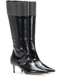 Christopher Kane - Stivali in pelle con cristalli - Lyst